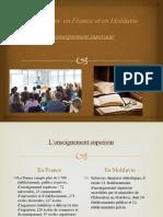 L'enseignement superieur en France et en Moldavie