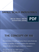 SMALL SCALE INDUSTRIES