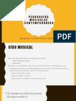 Pedagogías musicales contemporáneas Exposición [Autoguardado]