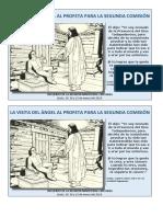 LA VISITA DEL ÁNGEL AL PROFETA PARA LA SEGUNDA COMISIÓN