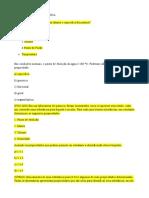 avaliação diagnostica quimica III unidade