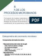 UNIDAD 08 - CINÉTICA DE LOS PROCESOS MICROBIANOS - 2020