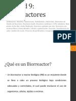 UNIDAD 09 - BIORREACTORES - 2020