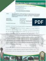 ACTA DE ENTREGA DE TERRENO CAMPOS PERALTA