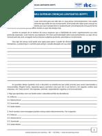 FERRAMENTAS_PSC - Estratégia para Superar Crenças Limitantes (RPP©)