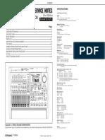 Roland VS-880EX Digital Studio Service Manual