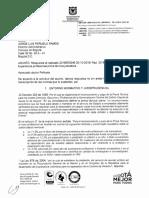 concepto Subdirección técnica juridica del servicio civil distrital