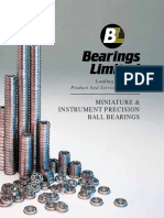 BALL BEARING -Miniature-Catalog