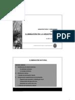 ILUMINACIÓN-I arquitectura