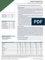 Ashok Leyland Ltd. - 1QFY20 Result - Narnolia
