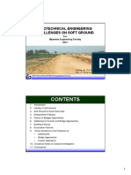 Geotechnical Engineering Challenges on Soft Ground