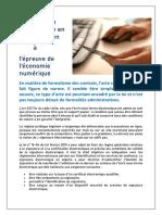 La signature électronique en droit Algérien