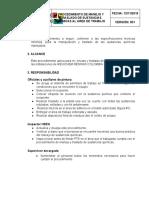 V001 Procedimiento manejo manejo y transporte de sustancias quimicas