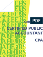 Career as a CPA