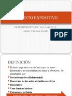 CLASE 2 - EL TEXTO EXPOSITIVO