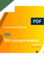 Presentacion tercer encuentro CIPAS
