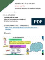 CLASE DE MATEMATICAS_LA SUSTRACCION