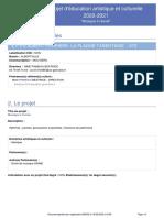 E.P.PU_ALBERT PERRIERE-LA PLAGNE TARENTAISE-PROJET_2020-2021-Musique a l-ecole-1-