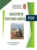 6ta clase SELECCIÓN DE TRACTORES AGRÍCOLAS