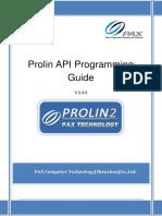 Prolin API Programming Guide(V2.4.0)
