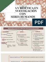 Ética y bioética en la investigación con seres humanos