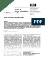 Sono e ingestão de alimentos uma revisão multissistêmica dos mecanismos em crianças e adultos