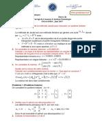 Exam juin 17 SMA4-SMI4