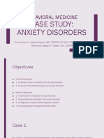 7718 [07] Review of Cases - Anxiety Disorders
