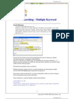 Metode Searching - Multiple Keyword dengan PHP