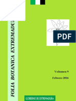 N serotinus La Serena folia bot extremad