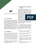 GIMP Grundlagen