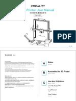 Creality CR-6 SE User Manual English _ Chinese.pdf