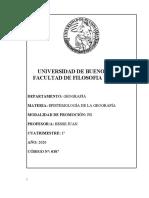 Prog Epistemología de la Geografía  2020