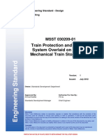 L1-SDD-STD-001 - Train Protection and Warning System