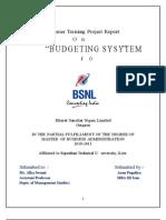 """BSNL"" budgeting system"