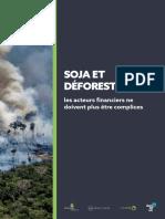 Soja et déforestation