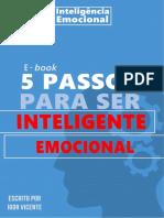 5 passos para ser inteligente emocional