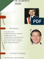 GOBIERNO DE ALBERTO KENYA FUJIMORI FUJIMORI