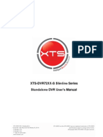 XTS-DVR72XX-S Slimline Series