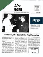 The Barnabite Messenger  Vol.27 No.1 - March 1979
