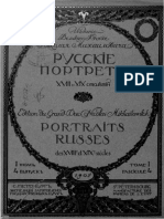 Russian Portraits of the Court of St Petersburg