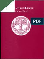 Giordano Bruno, Ernesto Schettino (trad.) - De Vinculis In Genere-Editorial Pax Mexico (2008)