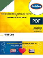 PROCESO DE ENTREGA DE POLLOCOA 1