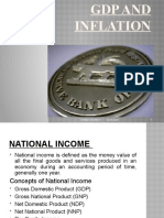 GDP and INFLATION