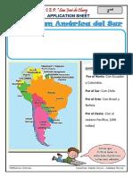 El Perú en América del Sur y sus regiones