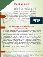 Las TIC's en el aula pdf
