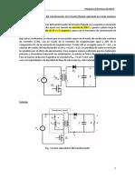 Diseño de transformador de la fuente flyback