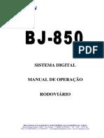 MANUAL TÉCNICO DO BJ 850.pdf