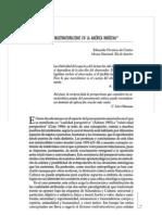 Eduardo Viveiros de Castro - Perspectivismo y Multinaturalismo