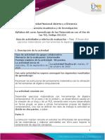 Guía de actividades y rúbrica de evaluación - Unidad 2 - Paso 3 - Desarrollar ejercicios matemáticos con herramientas de álgebra computacional (1)